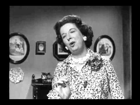 Mrs Cathcart Mary Wickes sings