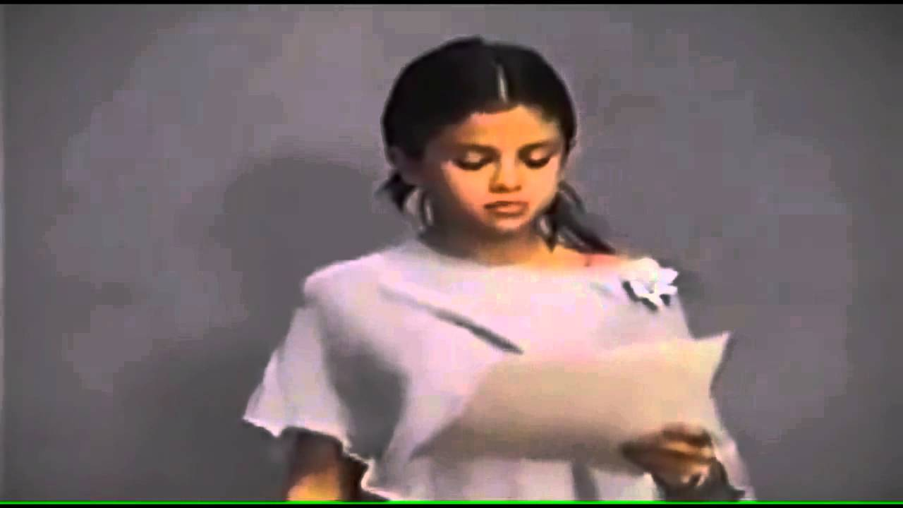 Selena's First Audition
