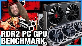 Red Dead Redemption 2 PC GPU Benchmark - Best Video Cards for RDR2