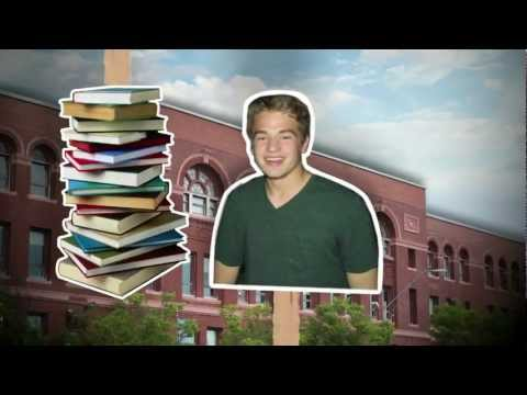 Student-made book trailer: