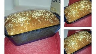 Honey Oat Bread No Sugar Added