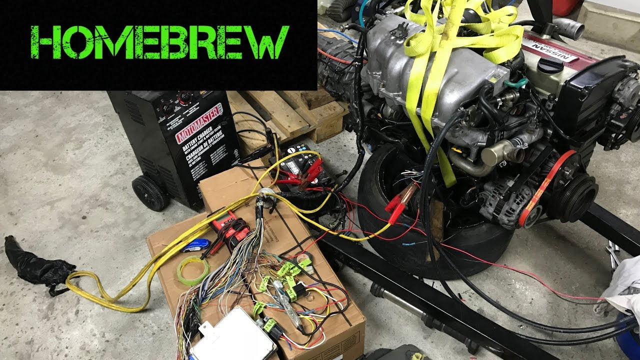 Rb20det First Start Attempt Youtube Rb20 Wiring Harness