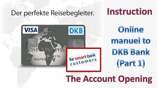 DKB account opening