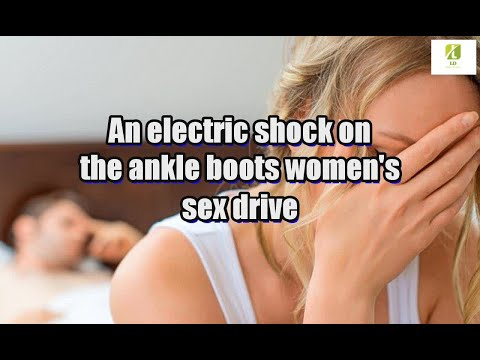 An electric shock on the ankle boots women's sex drive