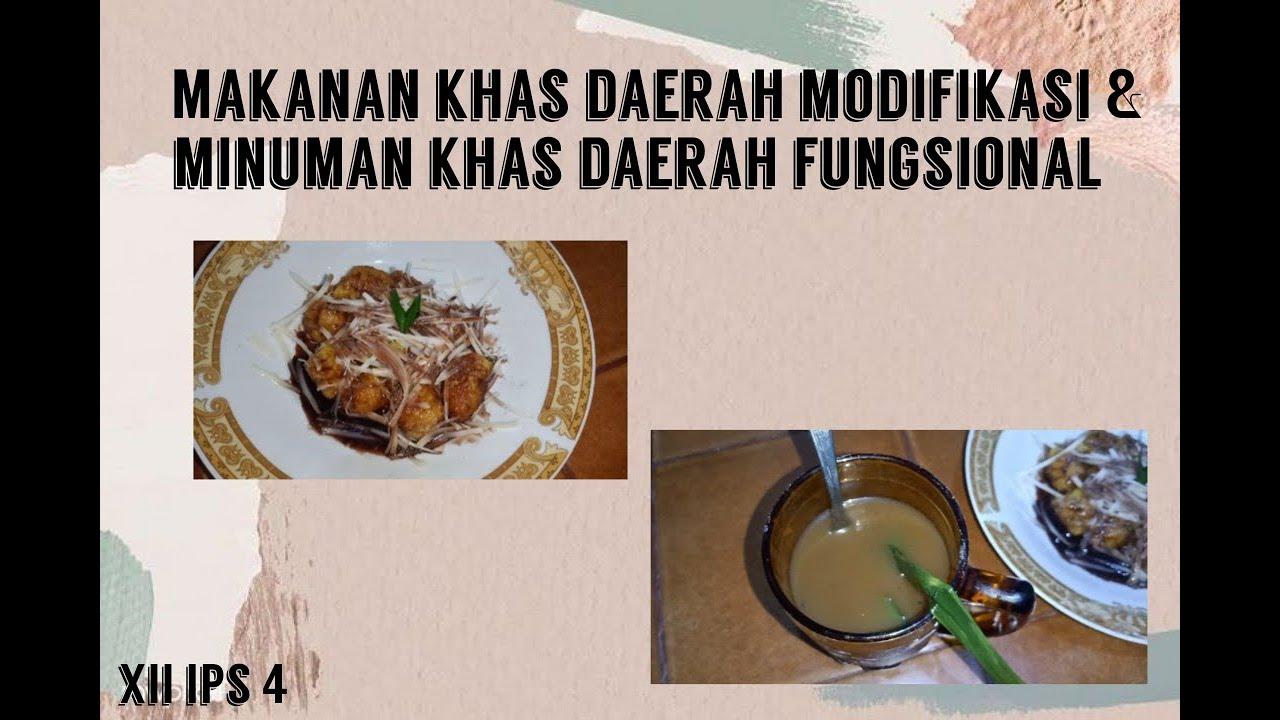 Makanan Fungsional Daerah