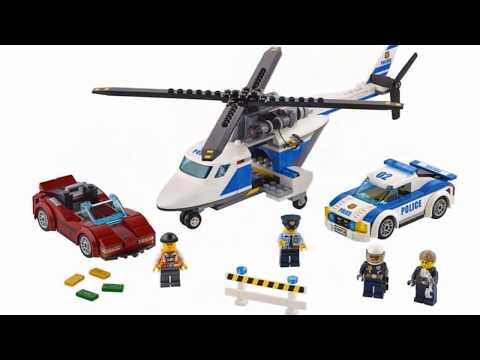 Новая ЛЕГО Полиция 2017. Наборы Лего Сити - Полицейский участок и Выездной отряд полиции