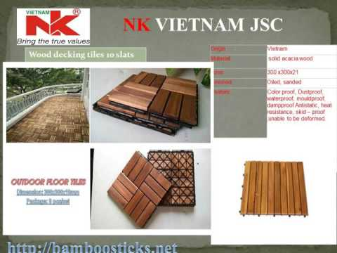 How to install deck tiles-wood deck tiles production line