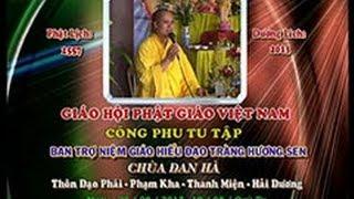 Đạo tràng niệm phật chùa Tâm Linh