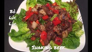 🇨🇦 Shaking Beef Recipe [ Eng, Sub ] Bò Lúc Lắc. Cuộc Sống Canada 🇨🇦.