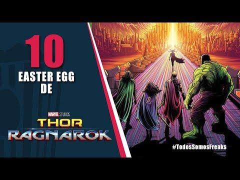 10 Easter Egg de Thor Ragnarok  | Canal Freak