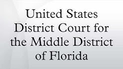 United States District Court for the Middle District of Florida