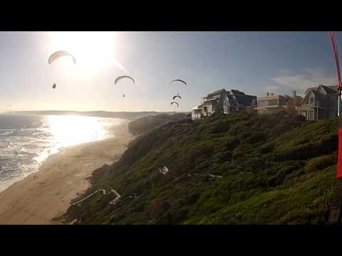 Paragliding in South Africa Beach Hotel Wilderness
