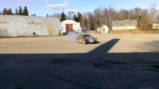Audi 90 test drive.