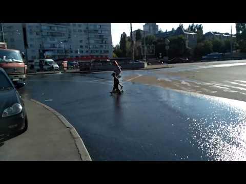 Киев. Потоп на ул. Ереванской.   21.06.2018.