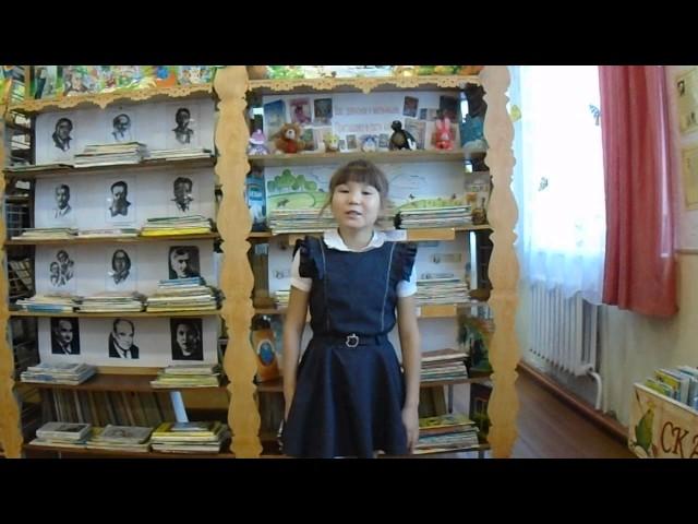 Изображение предпросмотра прочтения – АльбинаБоргоякова читает произведение «Ворона и Лисица» И.А.Крылова