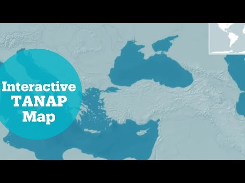 Gas pipeline's inauguration in Turkey - Interactive TANAP Map
