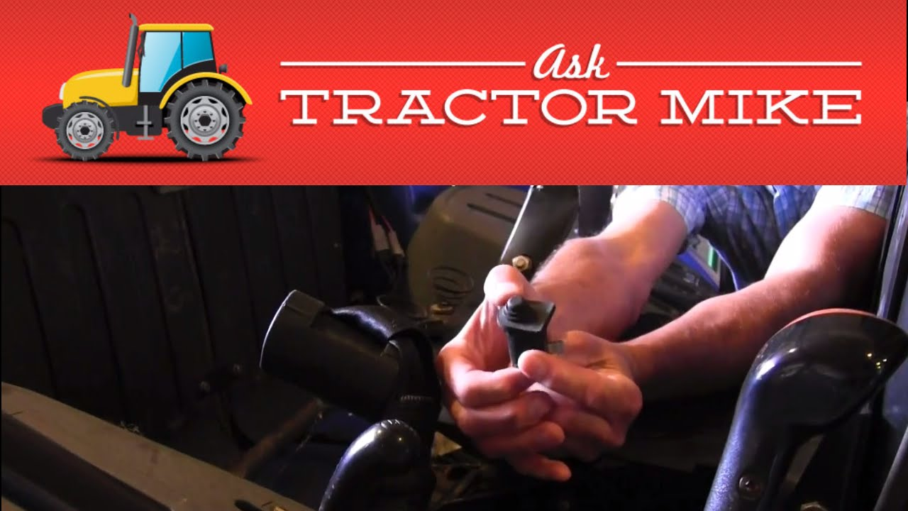 What to do When a Tractor Won't Start  YouTube