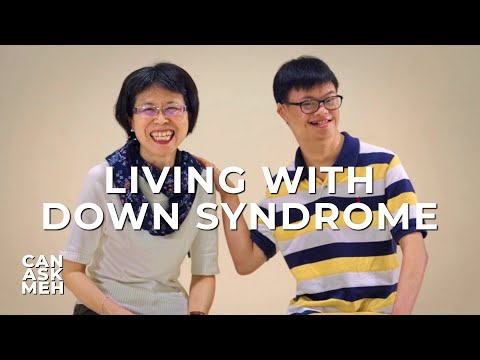 People With Down Syndrome   Can Ask Meh?