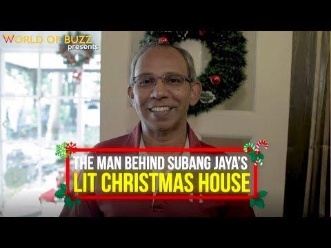 The Man Behind Subang Jaya's Lit Christmas House
