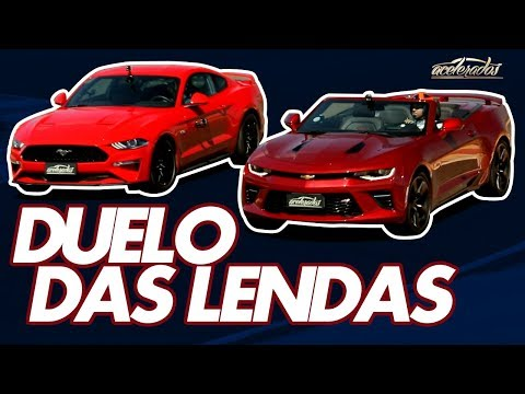 CAMARO OU MUSTANG: QUEM VENCE A BATALHA DOS MUSCLE CARS NA PISTA? - ESPECIAL #188 | ACELERADOS