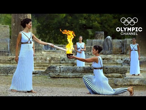 Olympic Flame Lighting Ceremony Tokyo 2020