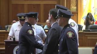 Jersey City Police Swearing-In May 20, 2016