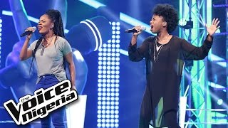 A'rese vs Flourish sing 'Stronger' / The Battles / The Voice Nigeria 2016