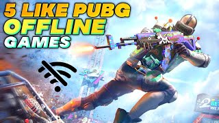 Top 5 Offline Battle Royale Games Like Pubg Mobile Under 100mb For Androidios 🎮 High Graphics 🔥
