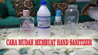 Cara mudah membuat hand sanitizer / cairan pembersih tangan sendiri dirumah