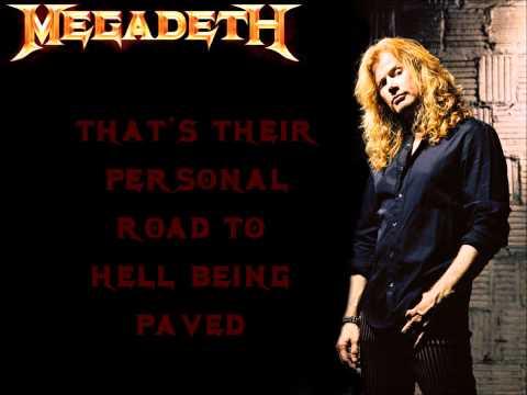 Megadeth - Promises With Lyrics