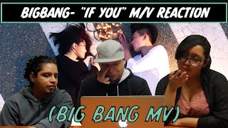 "AMERICANS REACT TO BIG BANG- ""IF YOU"" M/V!!!"
