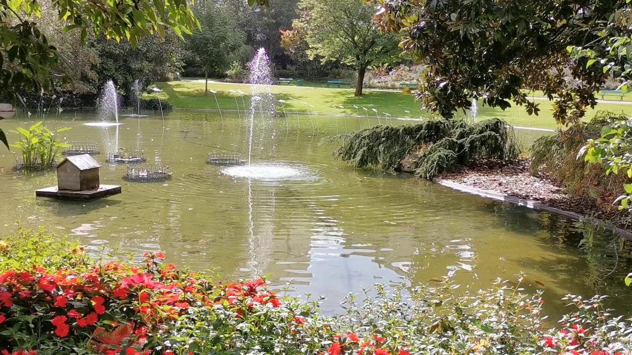 Jardin Des Plantes Angers 2 Youtube