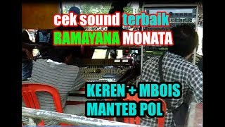 Video MANTEB TERBAIK cek sound Ramayana Monata Lamongan 2017 keren mbois pol download MP3, 3GP, MP4, WEBM, AVI, FLV Maret 2018