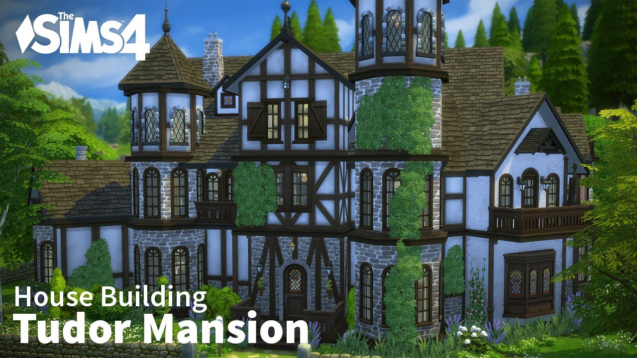 Tudor Mansion The Sims 4 House Building YouTube