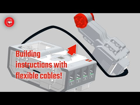 Making building instructions with EV3 cables in studio tutorial thumbnail