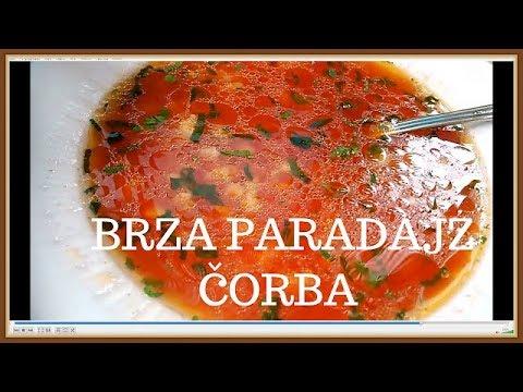 Bakina kuhinja - brza paradajz čorbica