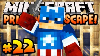 minecraft prison escape episode 22 w ali a cpt america joins