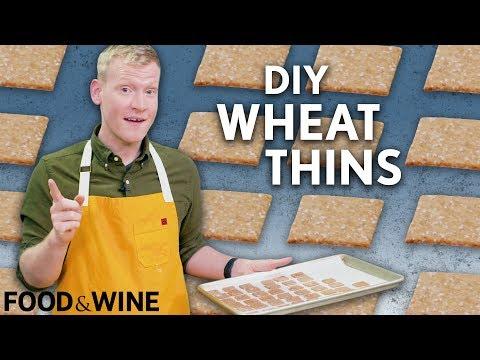 DIY Wheat Thins  Mad Genius  Food & Wine