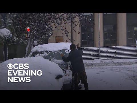 Montana declares winter storm emergency after major snowfall