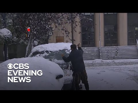 Steve Knoll - Early Winter Storm Dumps More Than 3 Feet of Snow on Montana