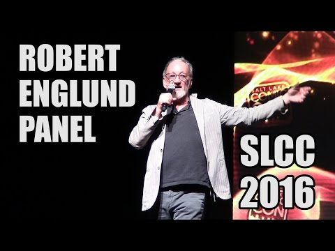 Robert Englund Panel at Salt Lake Comic Con 2016