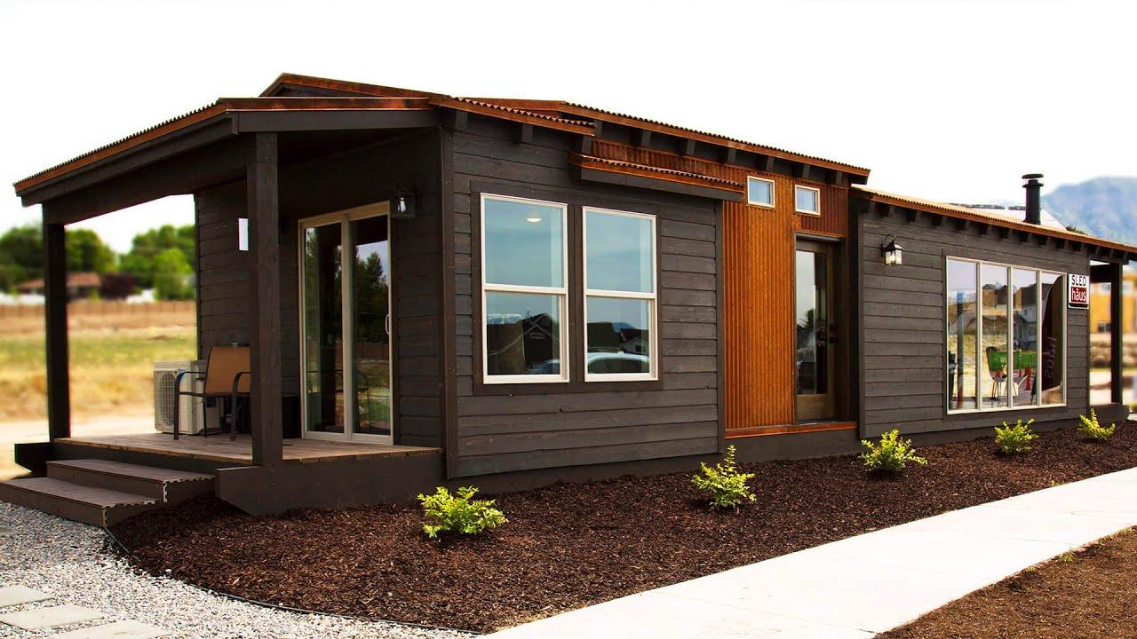 Incredibly Stunning Sledhaus Irontown Modular Home For