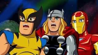 Отряд супергероев - Слепая ярость цветов не видит - Сезон 2, Серия 9 | Marvel