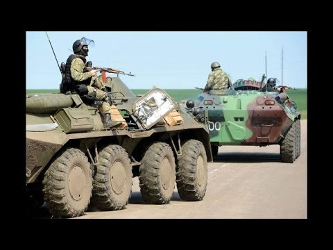 Ukraine army launches armoured assault on Slavyansk