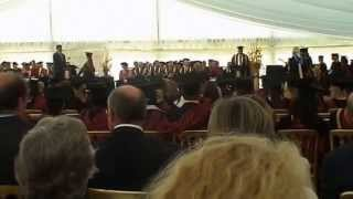 Coronation, oh no... Graduation! RAC 2009 now RAU