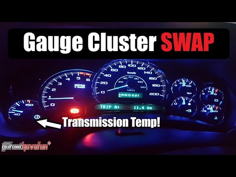 Escalade gauge cluster swap into a Silverado (Digital Dash Solutions) | AnthonyJ350