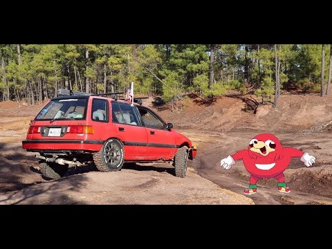 Dead Memes & Wagon Mobbing(Lifted Civic Wagon Off Road)