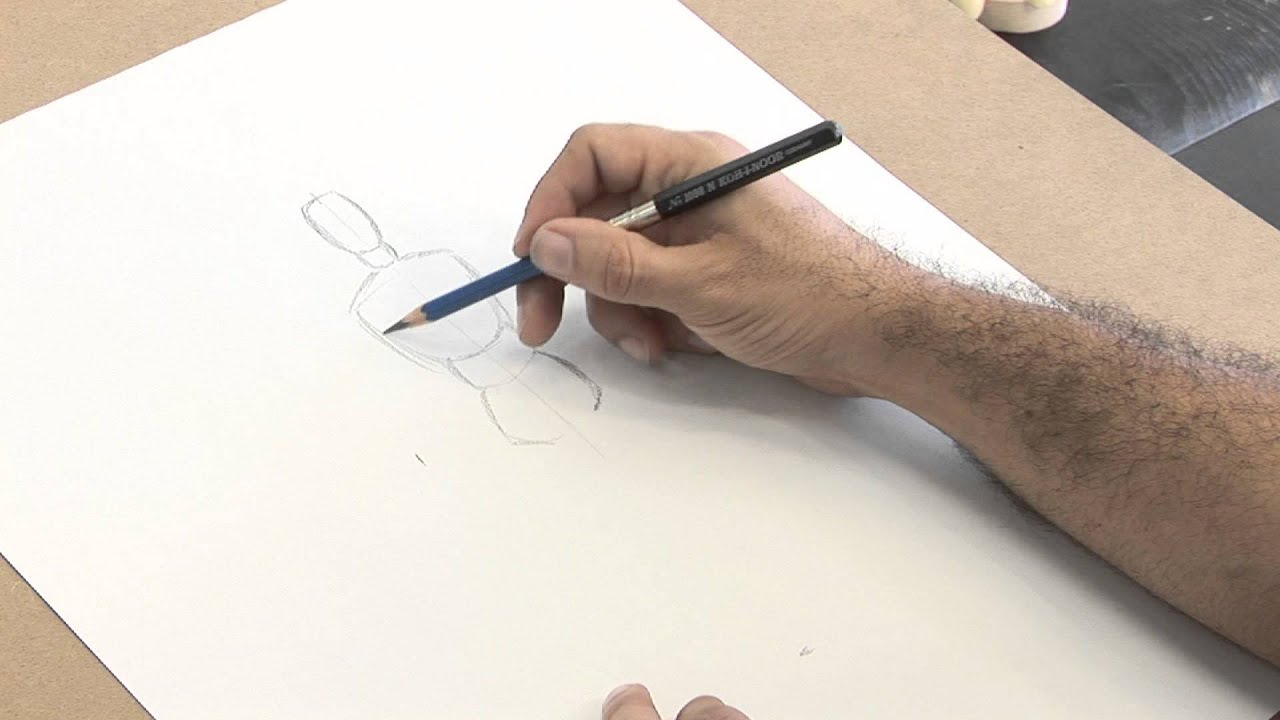 How To Draw A Human Body Figure Drawing Techniques Youtube