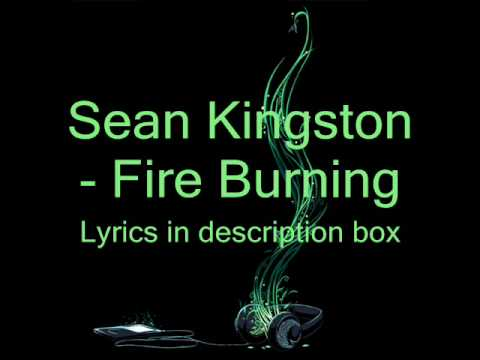 Sean Kington Fire Burning On The Dancefloor Lyrics Youtube
