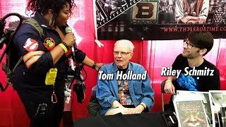 Interview with director Tom Holland and comic book artist Riley Schmitz
